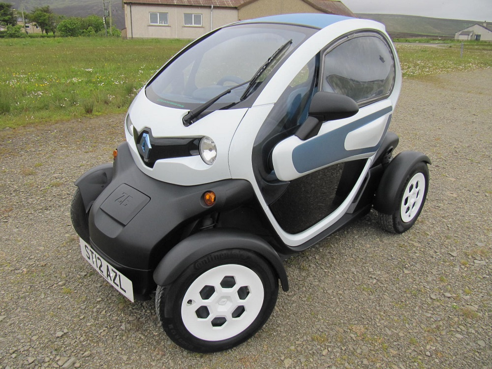 Renault twizy for sale eco cars for Electric motors for cars for sale